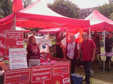 Wahlkampf der DKP Hannover. Foto: DKP